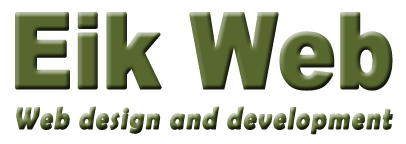 Eik Web, web design and development